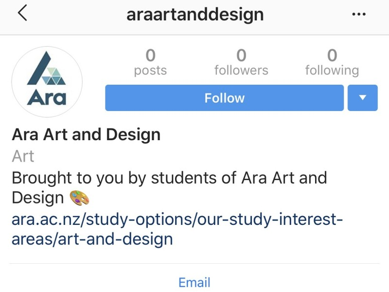Ara Art and Design IG